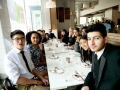 Teen Ambassadors sharing a meal at Doi Moi in Washington DC