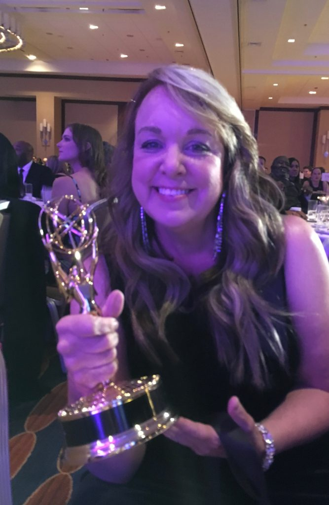 Beth Dolinar 2018 Emmy Award Winner