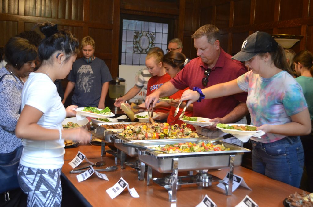 Camp Delicious! 2019 closing ceremony luncheon