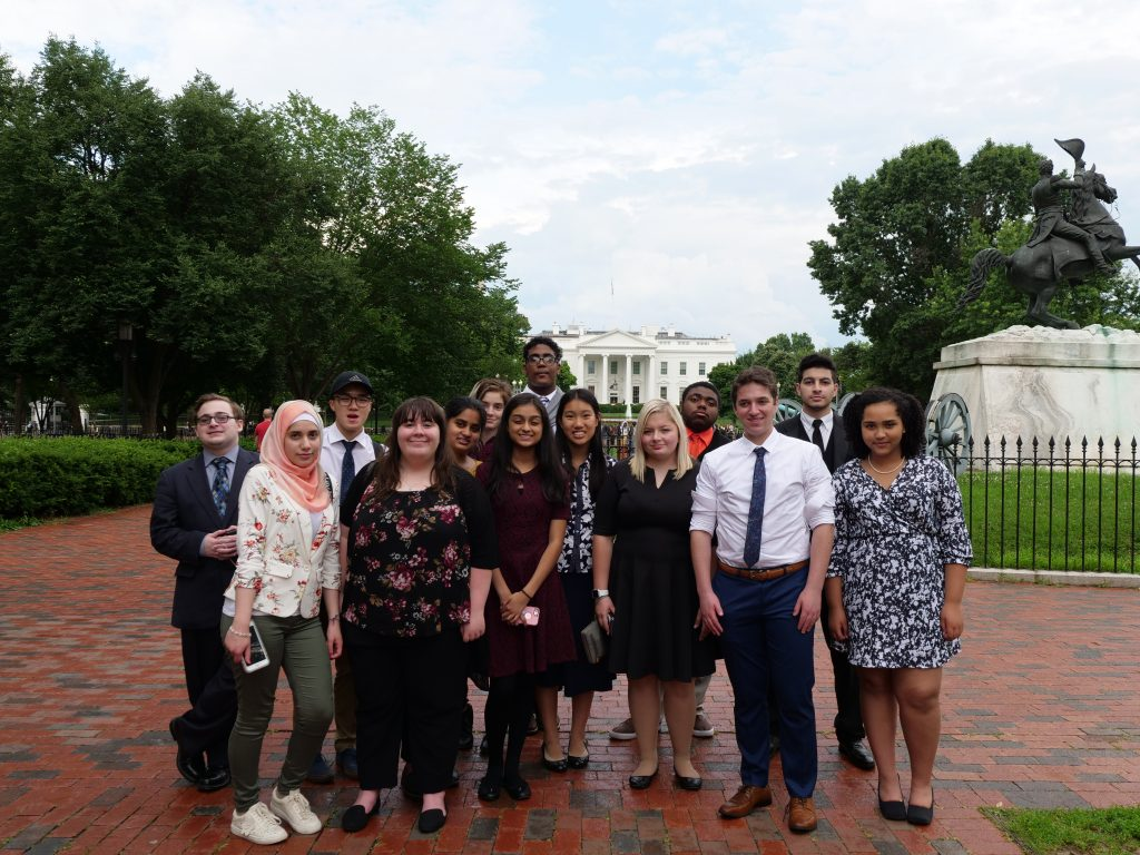 Teen Ambassadors 2019 in Washington DC