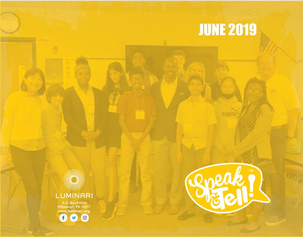 Speak & Tell! Camp 2019 Souvenir Book