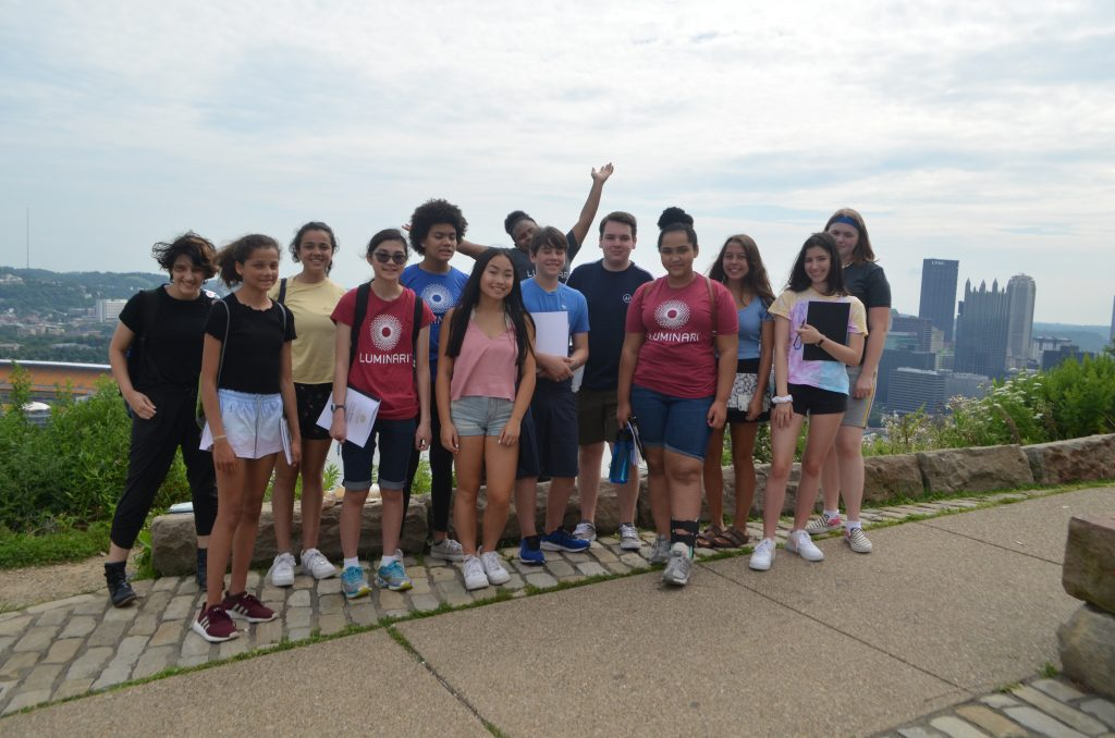 2019 Teen Writers on Mount Washington
