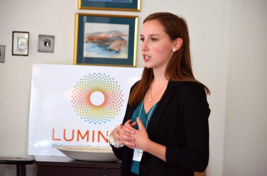 Camille Traczek 2019 <em>Luminari</em> Operations Intern