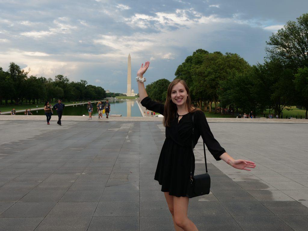Camille Traczek in Washington DC