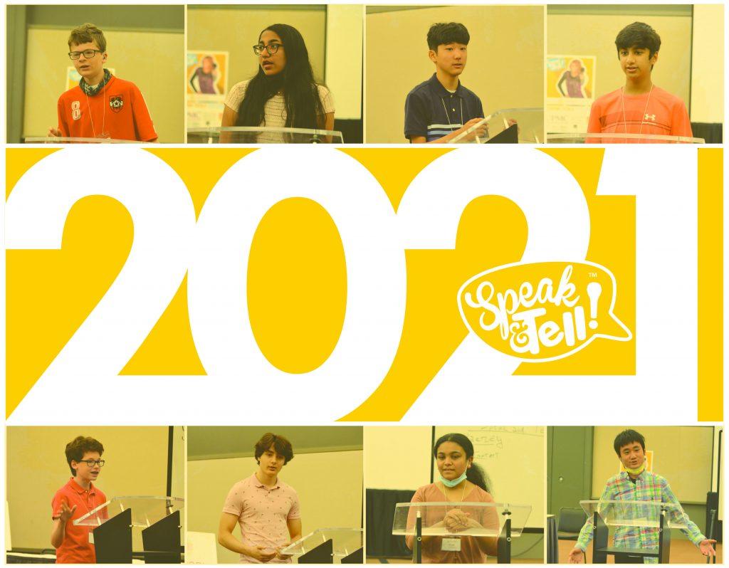 2021 Speak & Tell! Souvenir Book